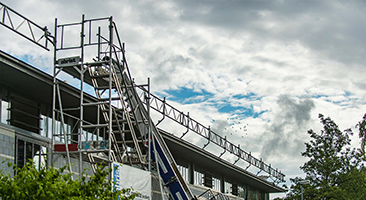 Dachrandgelaender - Obristgerüste - Lenzburg