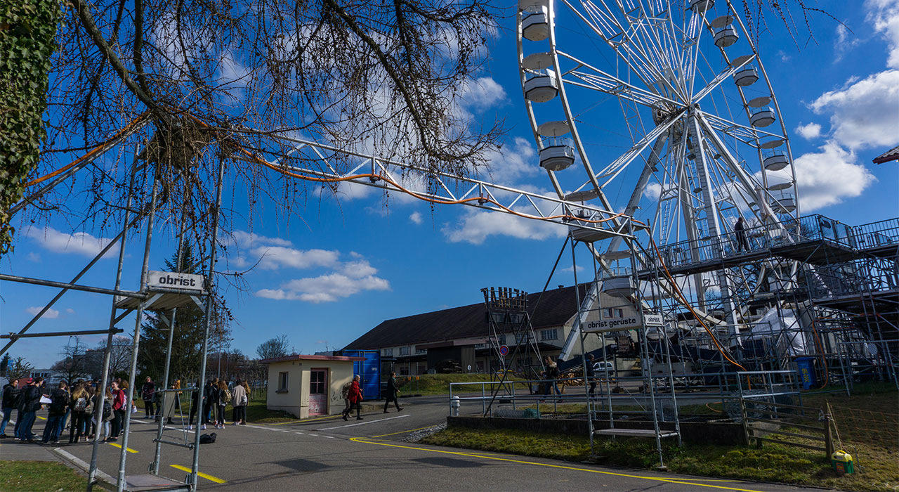 Kabelueberfuehrung - Obristgerüste - Lenzburg