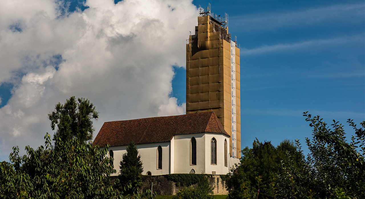 Fassadengerueste - Obristgerüste - Lenzburg